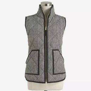 J Crew Factory Excursion Vest XS Herringbone